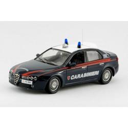 2006 Alfa Romeo 159 Carabinieri – italská policie/četnictvo – 1/43