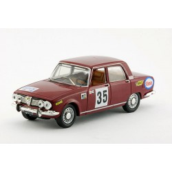 1968 Alfa Romeo 1750 Berlina – 24h. di SPA – 1/43
