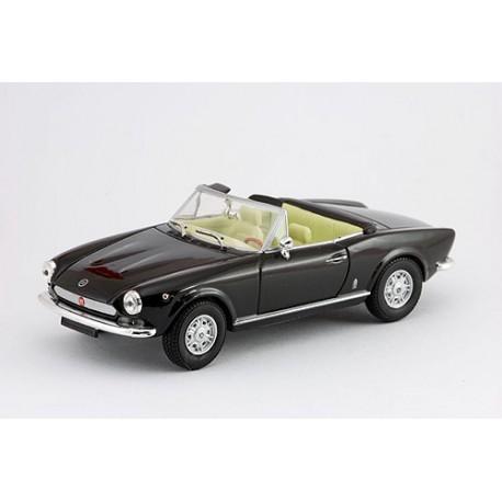 1971 Fiat 124 Sport Spider – černý – 1/43
