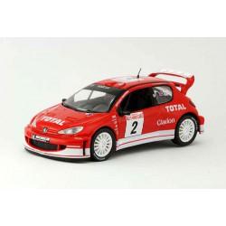 2003 Peugeot 206 WRC – Rallye Monte Carlo – 1/43