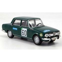 1968 Alfa Romeo 1750 Berlina – Rallye des Alpes – 1/43
