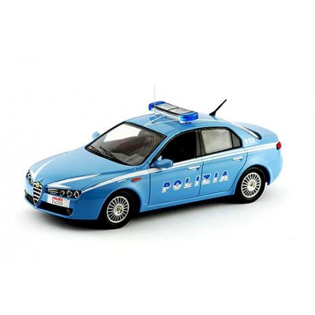 2006 Alfa Romeo 159 - dopravní policie Itálie - 1/43 M4