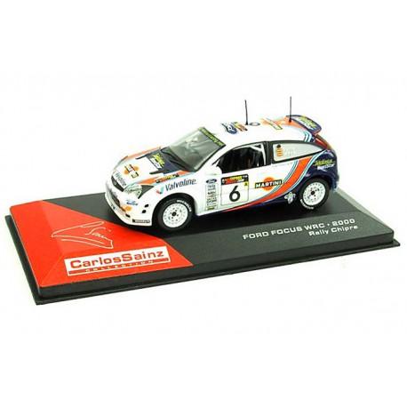 2000 Ford Focus WRC – Rally Cipre (Kypr) – 1/43