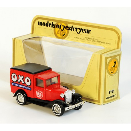 Y-22A 1930 Ford model A Van OXO – MATCHBOX Models of Yesteryear