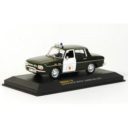 1967 Renault 10 – španělská dopravní POLICIE – 1/43