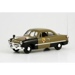 1949 Ford Custom – Ohio State Police – Highway Patrol (dálniční policie státu Ohio) – 1/43