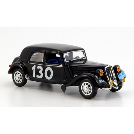 1954 Citroën Traction 15 Six - Rallye Lyon-Charbonneres – 1/43