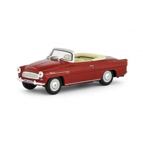 1963 Škoda Felicia Super − červená tmavá − 1:43