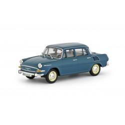 1964 Škoda 1000 MB − modrozelená tmavá − 1:43