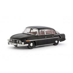 1969 Tatra 603-2 − černá / červený interier − 1:43