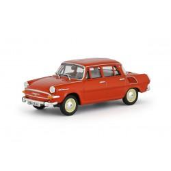 1964 Škoda 1000 MB − červená oranžová − 1:43