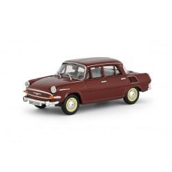 1964 Škoda 1000 MB − červená rubínová − 1:43