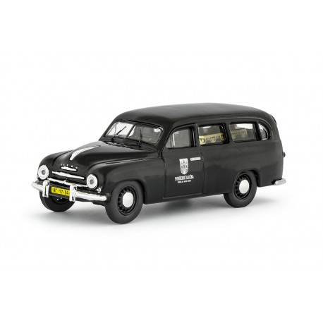 1956 Škoda 1201 − pohřební vůz / záchranka − 1:43