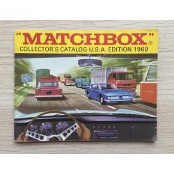 1969 MATCHBOX Catalogue - originální Matchbox katalog - 1. vzácnější vydání