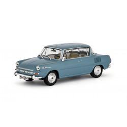 1969 Škoda 1100 MBX − tyrkysová světlá − ABREX 1:43
