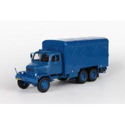 1967 Praga V3S Skříňový vůz − modrý − ABREX 1:43 − POŠTOVNÉ ZDARMA