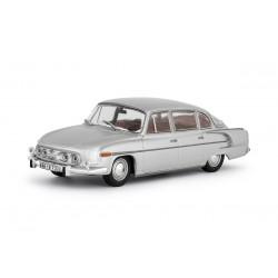 1969 Tatra 603 − EXPORTNÍ PROVEDENÍ − stříbrná metalíza − ABREX 1:43