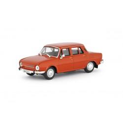 1973 Škoda 110 L − červená paprika − ABREX 1:43