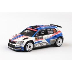 NOVINKA − 2018 Škoda Fabia III R5 − vítěz WRC-2 Rallye Monte-Carlo 2018, č. 32 − Kopecký/Dresler − ABREX 1:43