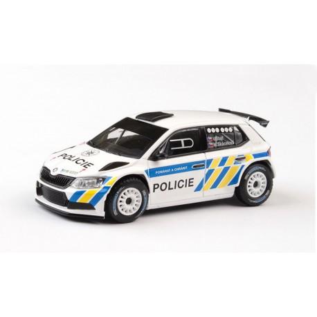 2018 Škoda Fabia III R5 − Policie ČR − ABREX 1:43