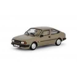 1987 Škoda Rapid 136 − jediný s béžovým interiérem − hnědá kamenná − ABREX 1:43