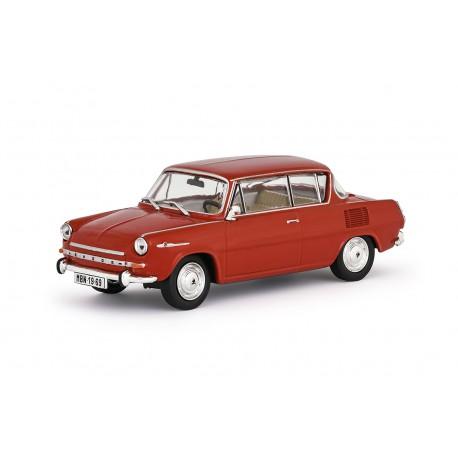 1969 Škoda 1100 MBX − červená oranžová − ABREX 1:43