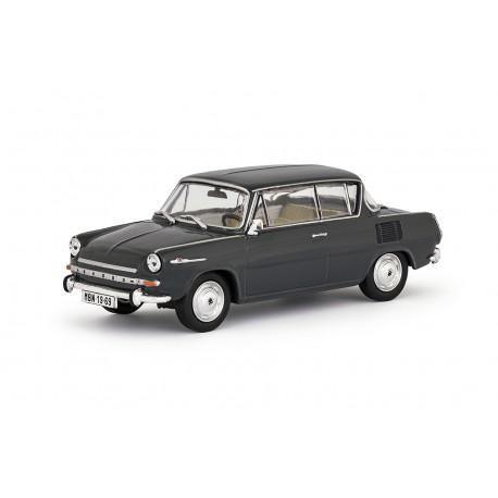 1969 Škoda 1100 MBX − šedá tmavá − ABREX 1:43