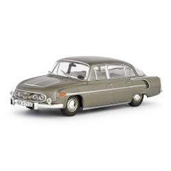 1969 Tatra 603-2 − vůz v Technickém muzeu Tatra − šedohnědá metalíza − ABREX 1:43