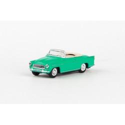 1963 Škoda Felicia Super − tyrkysová − ABREX 1:72