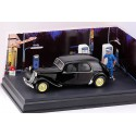 DIORAMA s vozem 1950 Citroën Traction 15 Six – 1/43