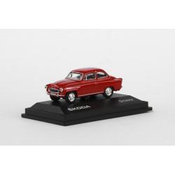 1963 Škoda Octavia − červená tmavá − ABREX 1:72