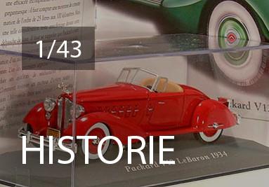 historicke 1/43 kovové modely